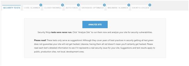 analyze site