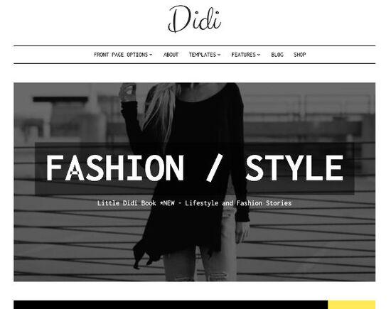 didi blog wordpress theme