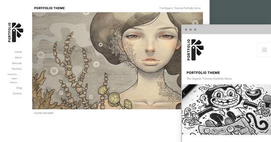 porftfolio theme