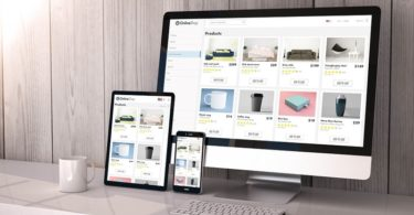 ecommerce website shopping