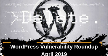 WordPress Vulnerability